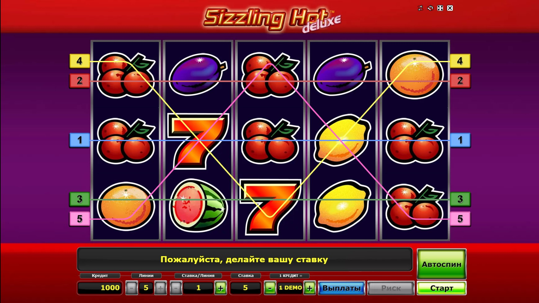 Sizzling Hot Deluxe Pc Game